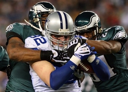 Eagles defense and Jason Witten