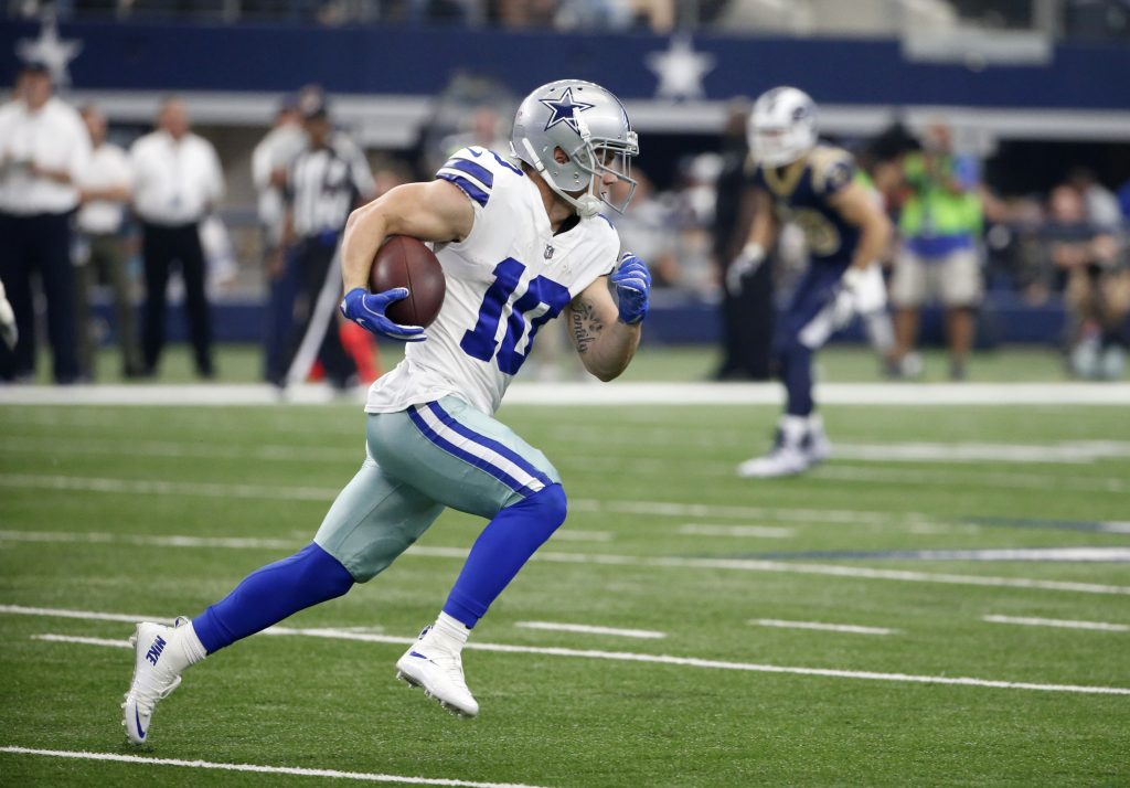 Cowboys Wide Out Ryan Switzer Recovering From Offseason Ankle Surgery